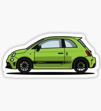 Abarth 595 Green Sticker