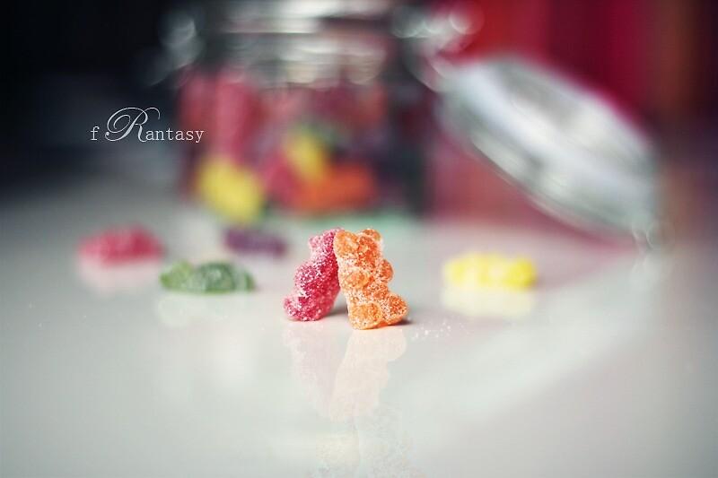 The Sweet Dreams of Jelly Bears by fRantasy