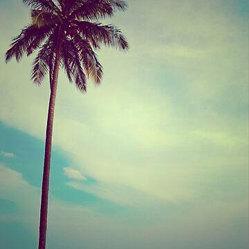 coconut tree by ozyardiansyah
