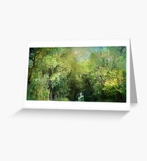 ~ Up to the Tree Tops ~ Greeting Card