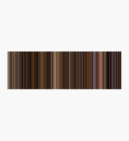 Moviebarcode: The Godfather: Part II (1974) [Simplified Colors] Photographic Print