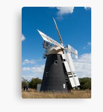 Thelnetham Windmill Canvas Print