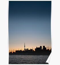 CN Tower and the Big Sky Poster