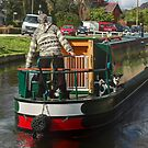 Llangollen Canal With Dogs by SimplyScene