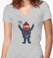 Yukon Cornelius 2015 Women's Fitted V-Neck T-Shirt