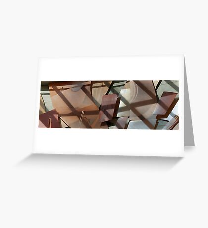 walking into abstracts Greeting Card