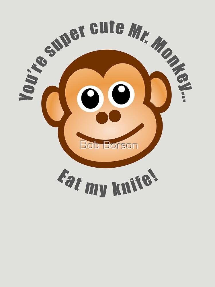 Super Cute Mr. Monkey by bobborson