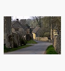 Coln St Dennis  Cotswolds  UK Photographic Print