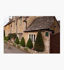 Lower Slaughter  Cotswolds  UK Photographic Print