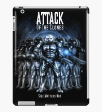 Sontaran's: Attack of the Clones - Size Matters Not iPad Case/Skin