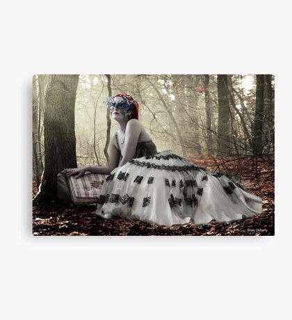 About a girl Canvas Print