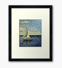 Sailing with Olivia Framed Print