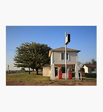 Route 66 - Lucilles Gas Station Photographic Print