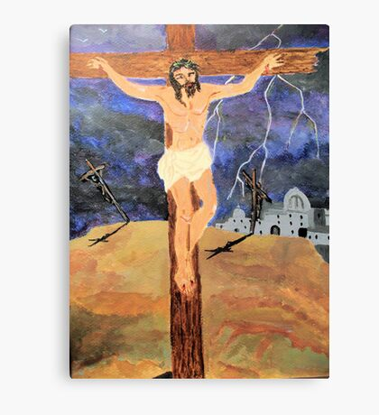 The Cruxifiction Canvas Print