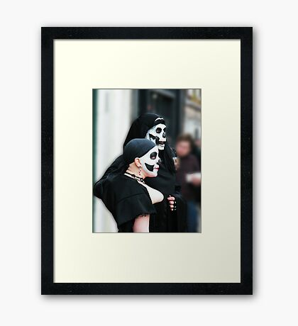 Pair of Skulls Framed Print