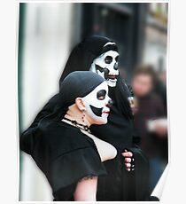 Pair of Skulls Poster