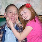 Smile for the camera, Grandpa!! by Lorrie Davis