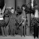 Clothespins Gals by Karen Kaleta