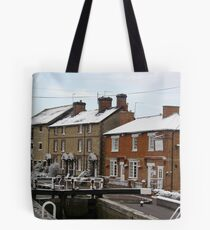 The Grand Union Canal,Stoke Bruerne Tote Bag