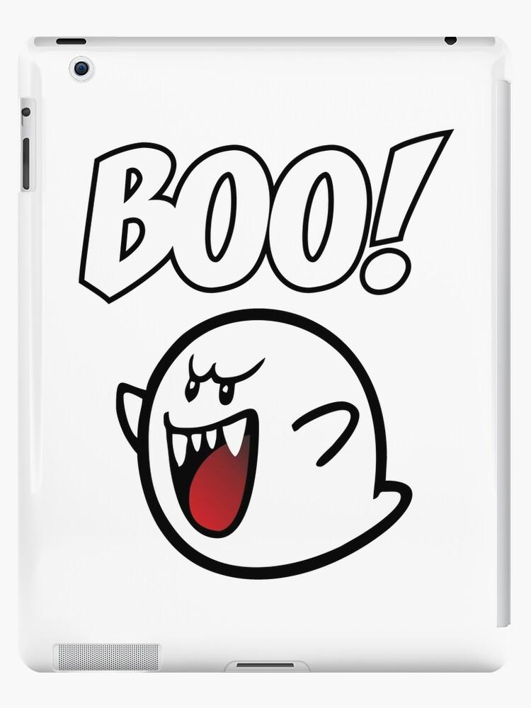 Boo Mario Ghost Ipad Cases Skins By Benova Redbubble