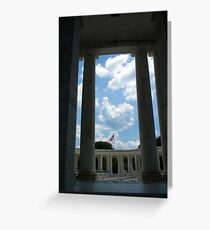 To The Brave Fallen - Arlington, VA Greeting Card