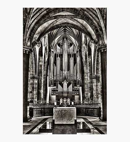 St Giles Organ Photographic Print