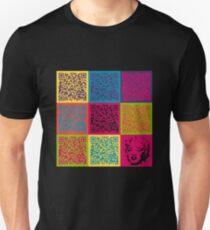 QR Marlyn Monroe, Andy Warhol-style Unisex T-Shirt