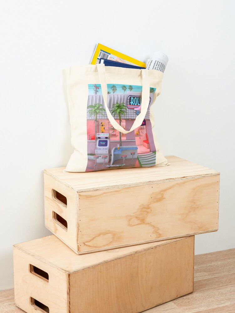 Alternate view of Roller Skate Nostalgia Tote Bag