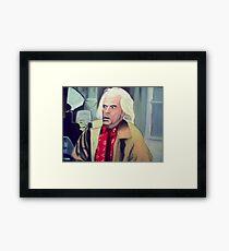 Doc Brown Framed Print