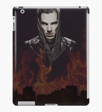 Benedict Cumberbatch - Flames iPad Case/Skin
