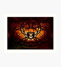 Twisted Metal Art Print