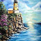 Split Rock Lighthouse by Pamela Plante