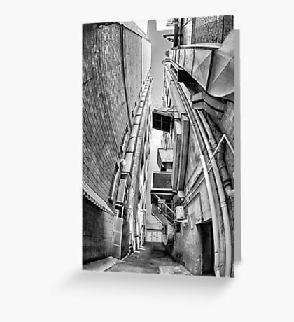 Alley Stacks - Sydney - Australia Greeting Card