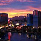Sunset in Vegas by Neville Gafen