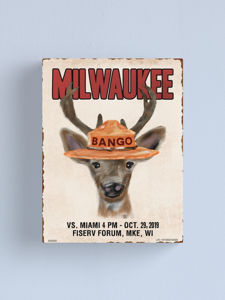 Alternate view of Only Bucks Can Prevent Wild Heat Canvas Print