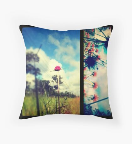 Wanderrie Road Throw Pillow