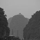 seascapes #145, temple on top by stickelsimages