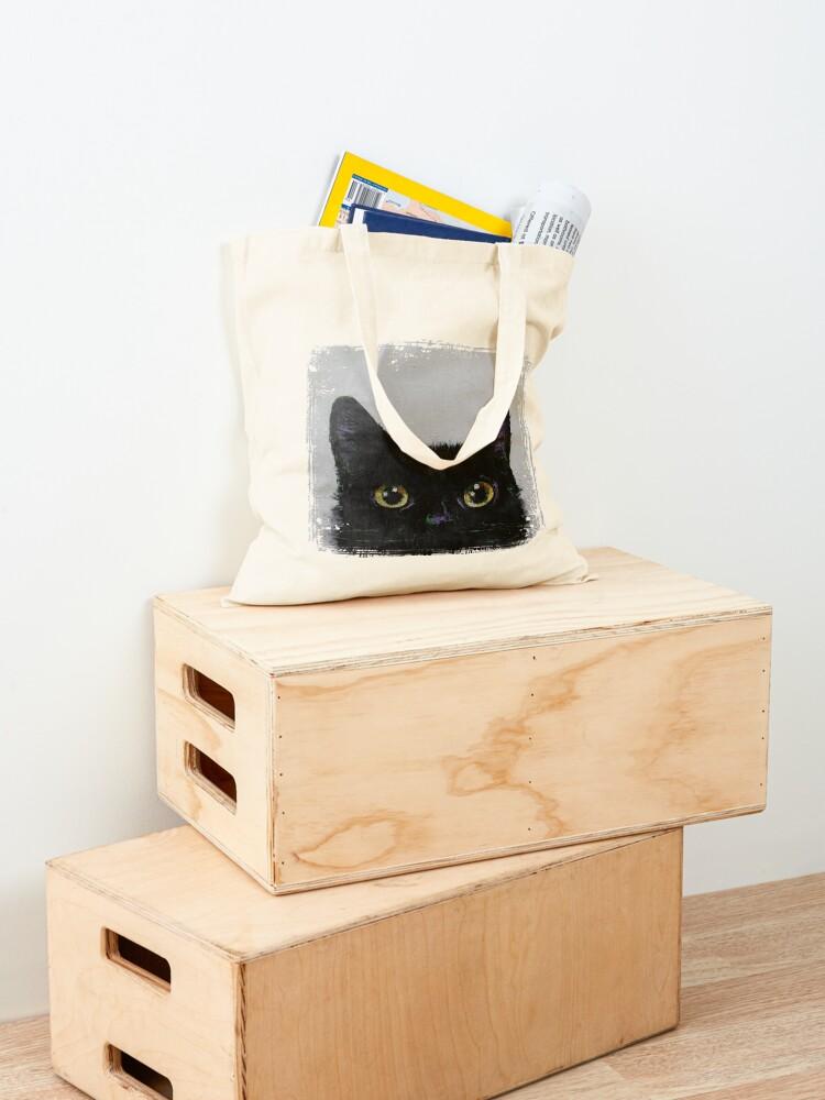 Alternate view of Black Cat Tote Bag