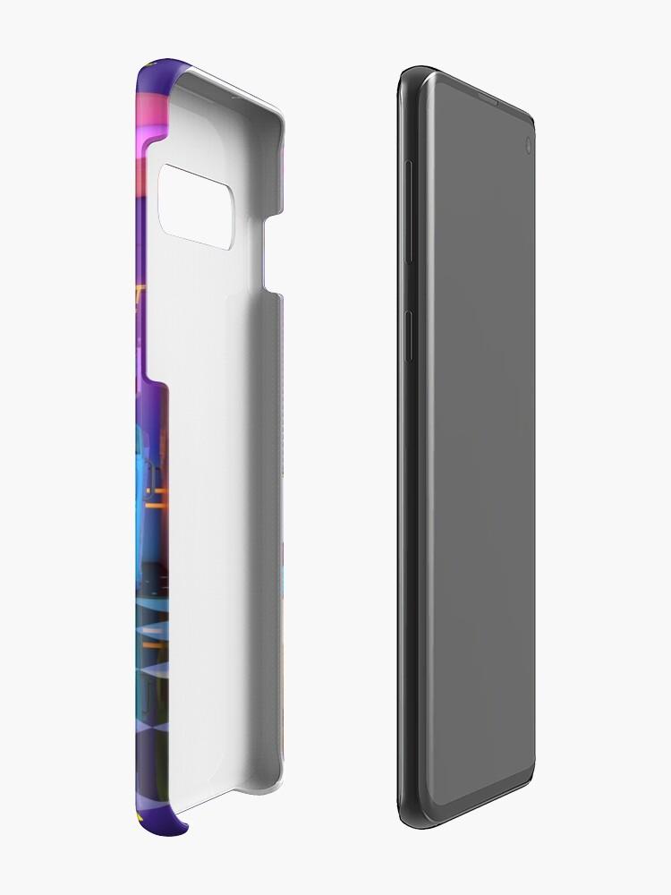 Alternate view of Retrowave Dine & Dream Case & Skin for Samsung Galaxy