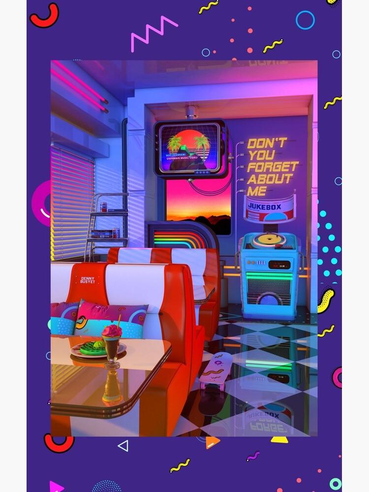Retrowave Dine & Dream by dennybusyet