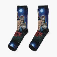 Strange Fur Things Socks