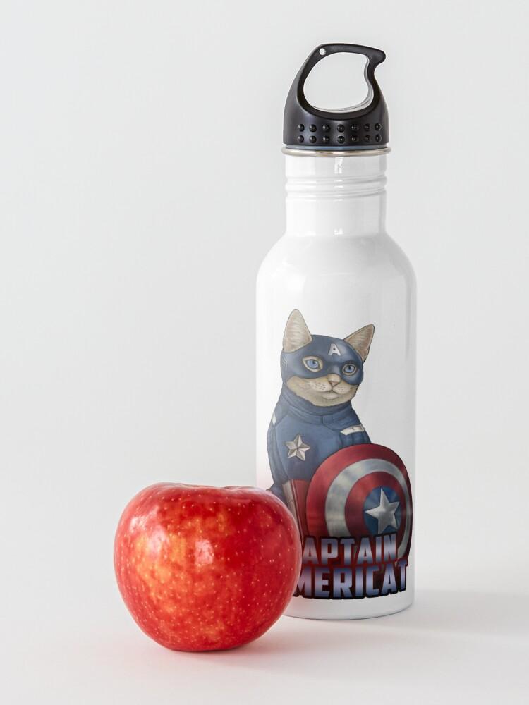 Alternate view of Captain Americat Water Bottle
