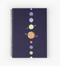 Space Union Spiral Notebook
