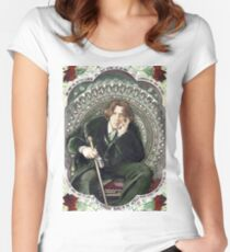 Oscar Wilde 2 Women's Fitted Scoop T-Shirt
