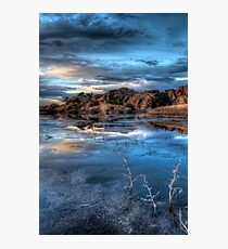 Crystal Blue Photographic Print