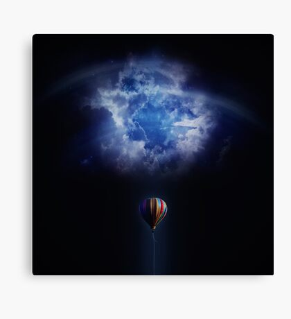 Balloon challenge  Canvas Print