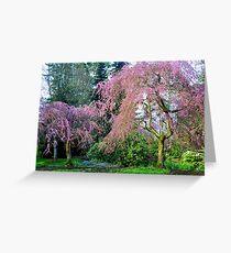 Pretty in Pink - Van Dusen Botanical Gardens Greeting Card