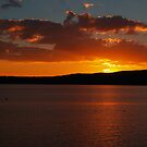 Sunset over Lake Taupo by Jay Armstrong