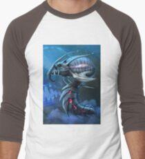 Underwater creature_first version Men's Baseball ¾ T-Shirt