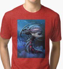 Underwater creature_first version Tri-blend T-Shirt
